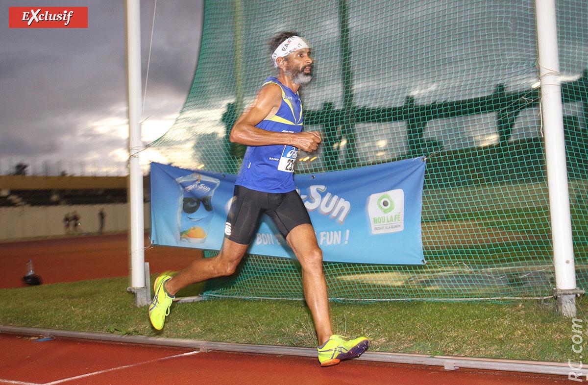 Médaillé d'argent du 5000m, Jean-Marie Cadet se dit satisfait de sa sortie