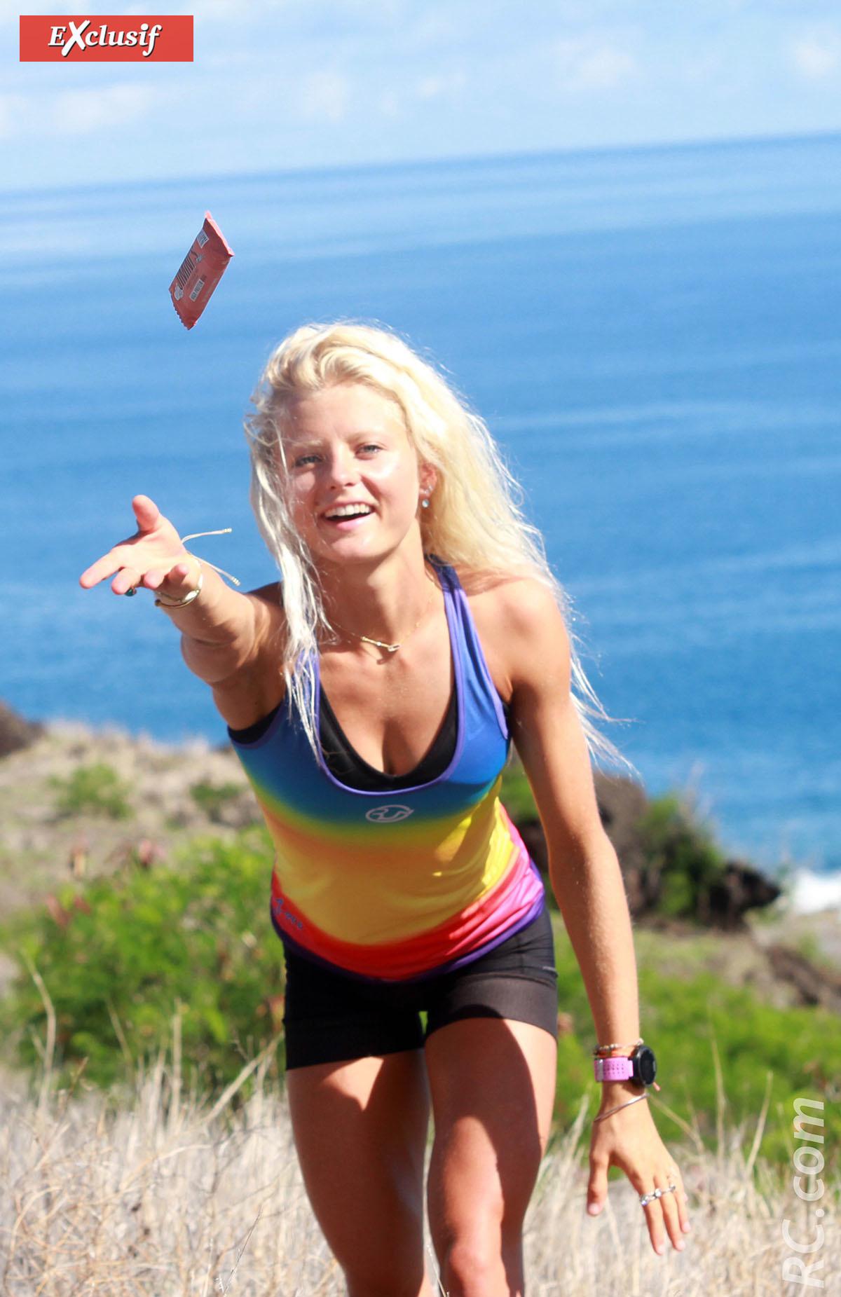 Marjolaine a beaucoup profité de son séjour à La Réunion