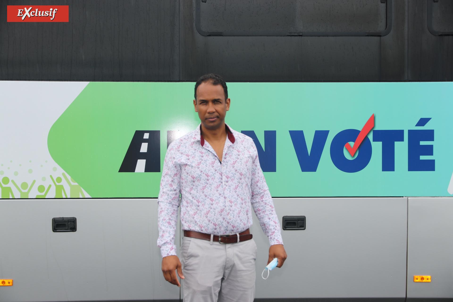 Bruno Fontaine, président de la FNTV Réunion