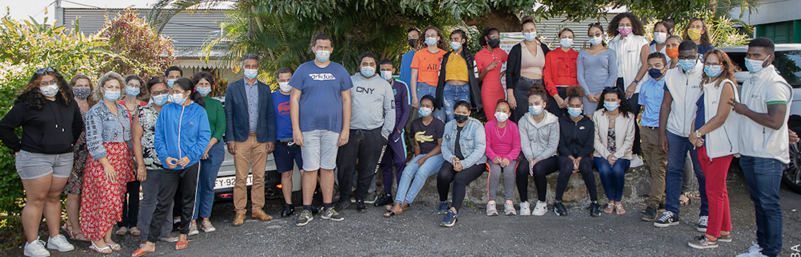 38 élèves ont participé aux 4 ateliers au Tampon (photo Bruno Bamab/Com CD)