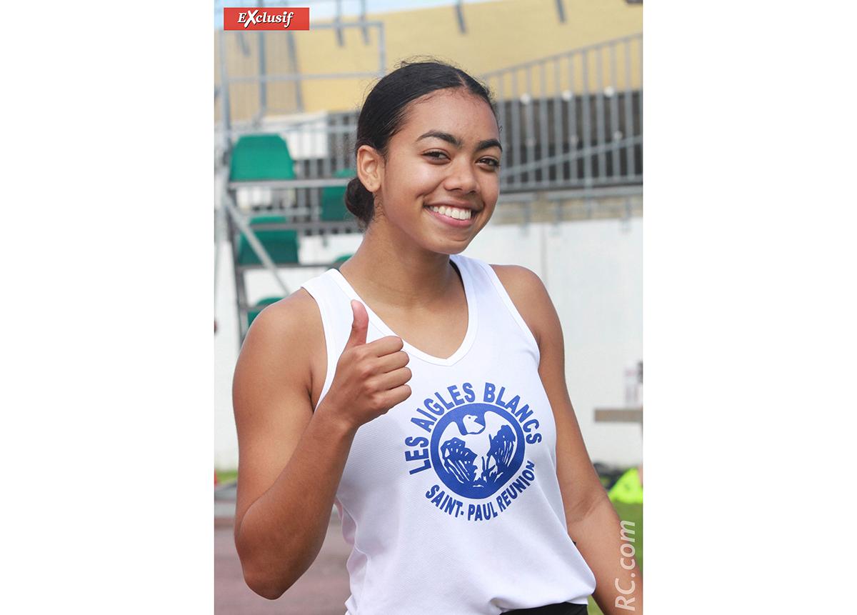 Lola Robert enfin récompensée sur le 100m,  elle ira au championnat de France des jeunes