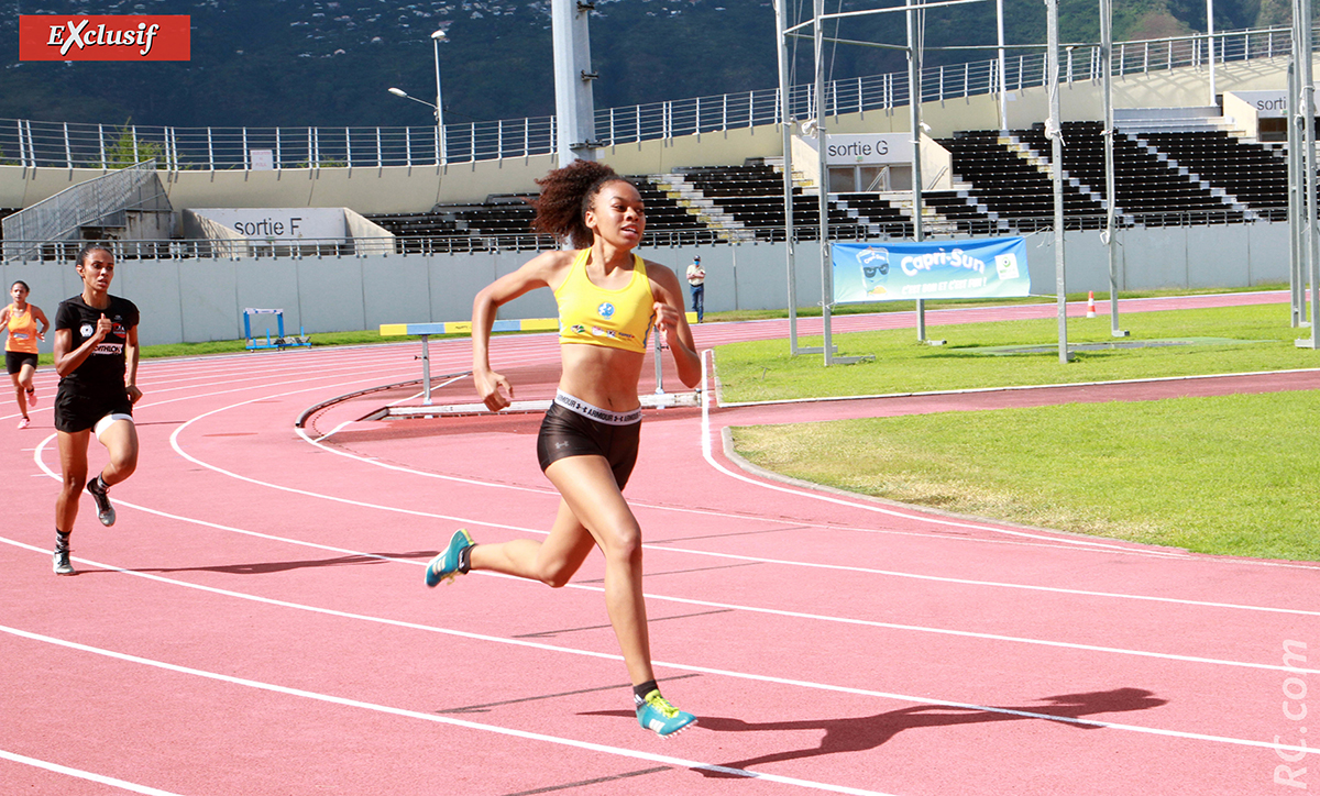 Mirella Mithra s'est logiquement imposée sur le 400m