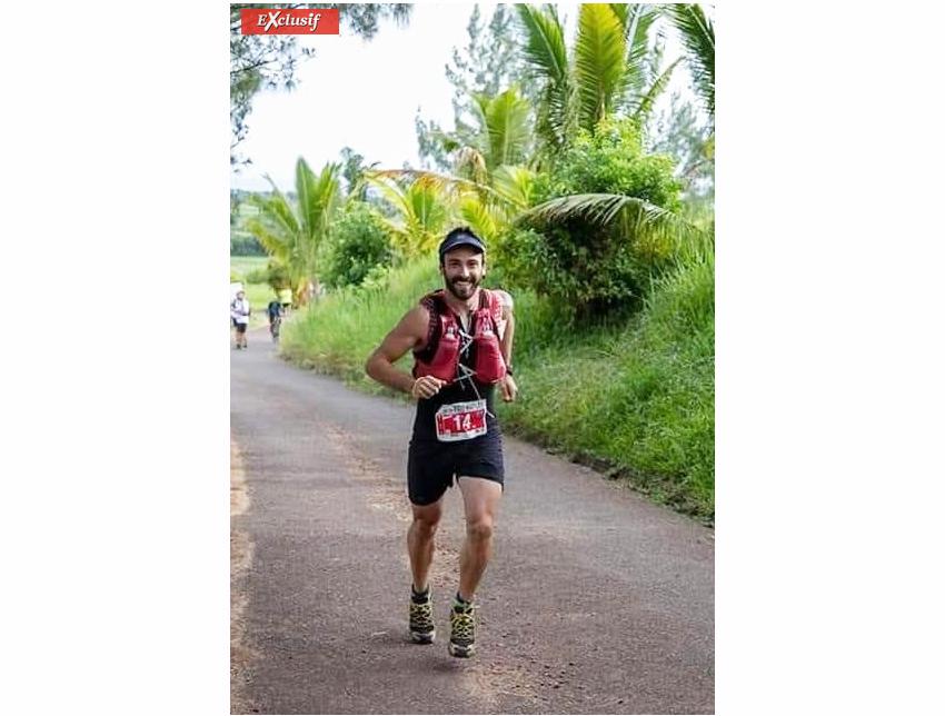Urko Larranaga a pris une superbe 2ème place et vise le Trail de Bourbon 2021