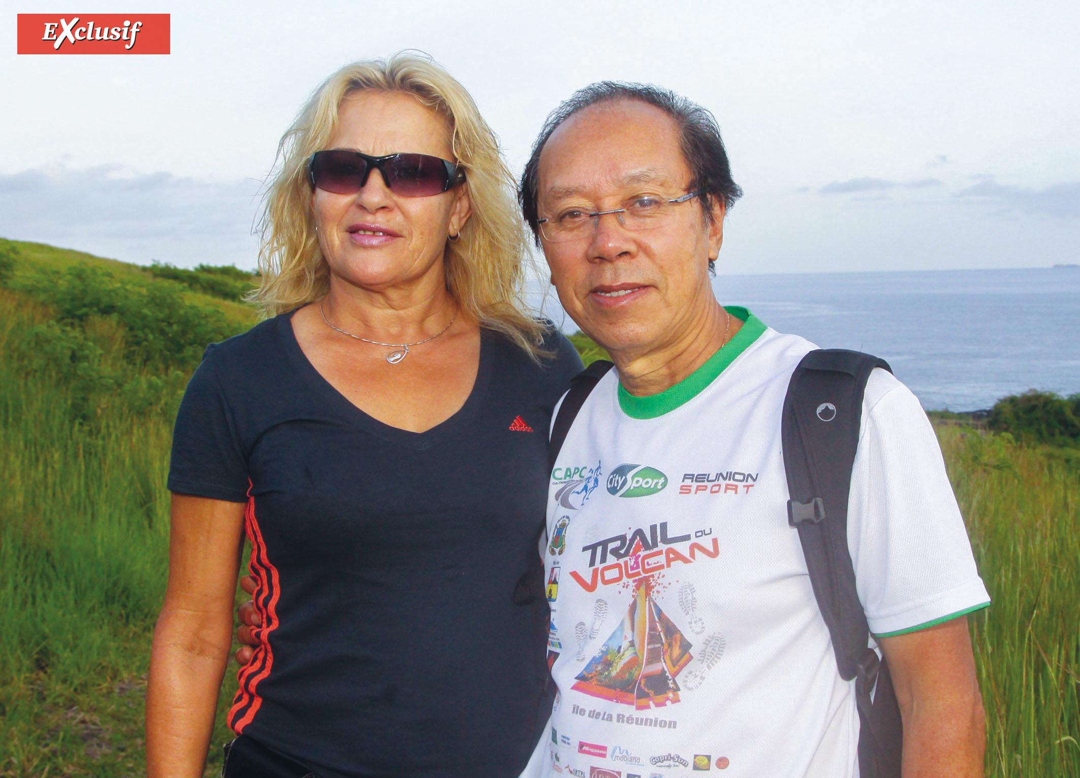 Roland et Marlène Chane See Chu, co-organisateurs du Trail du Volcan ont dû annuler les éditions de 2020 et 2021. Ils espèrent bien pouvoir rebondir en 2022