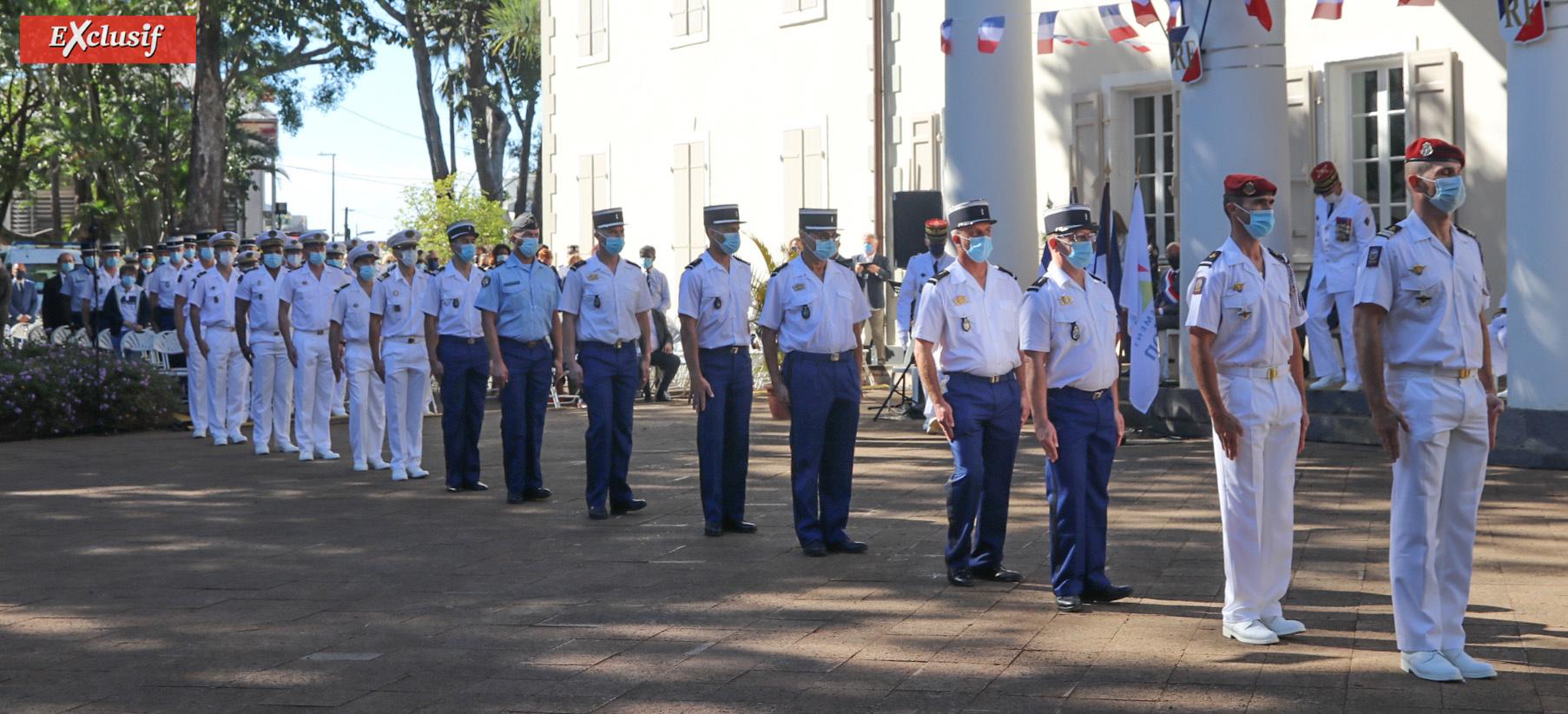 Des médailles ont été remises à une quinzaine de militaires