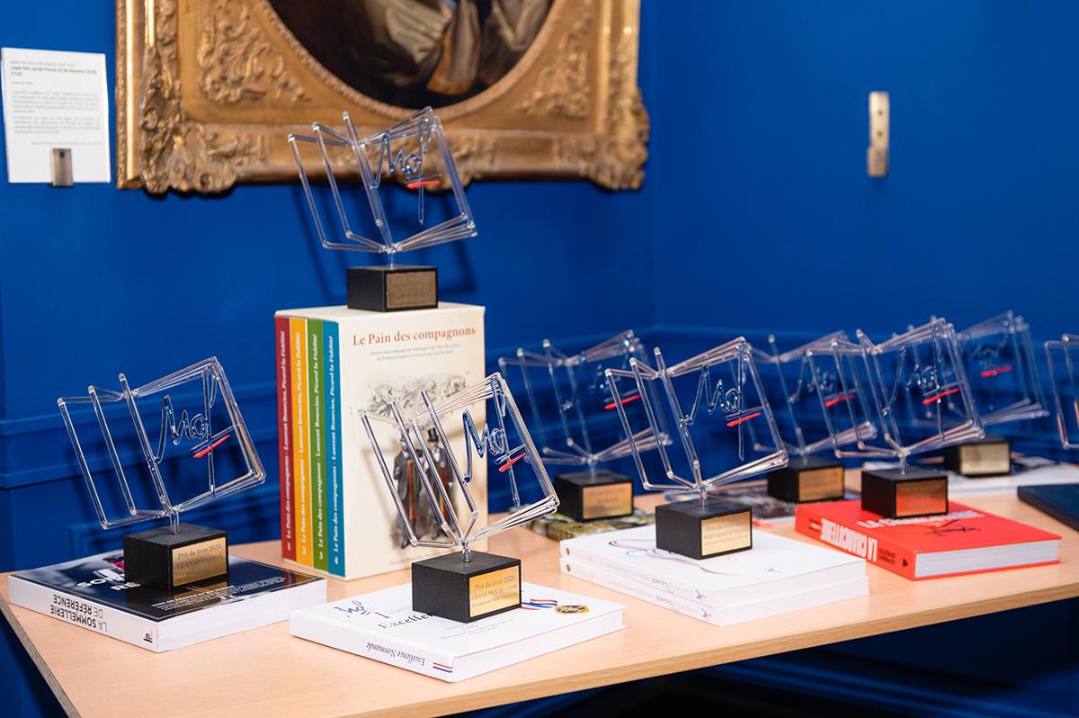 Prix du Livre des Meilleurs Ouvriers de France: la cérémonie en photos