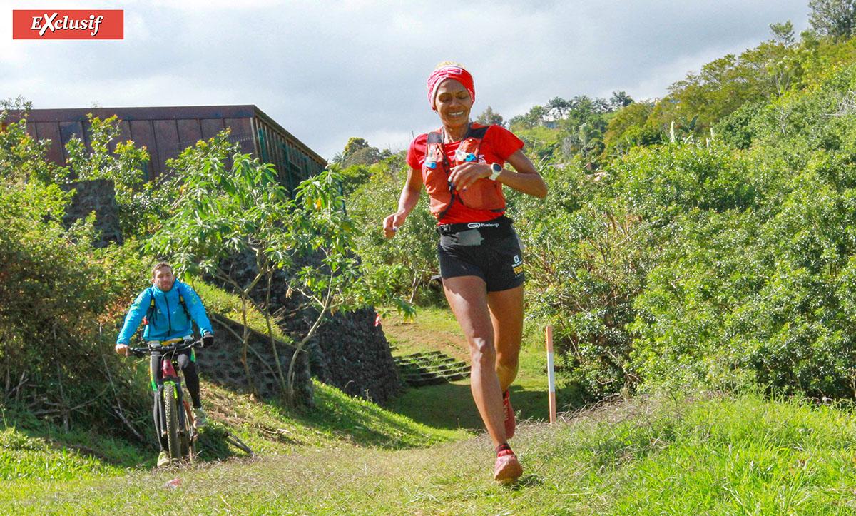 Hortense Bègue 3ème des 43 km