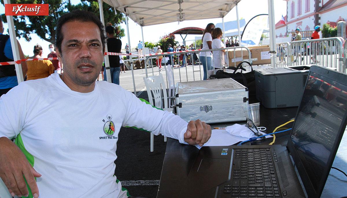 Willy Hastourny présentera très bientôt l'éco-dossard de Sportpro