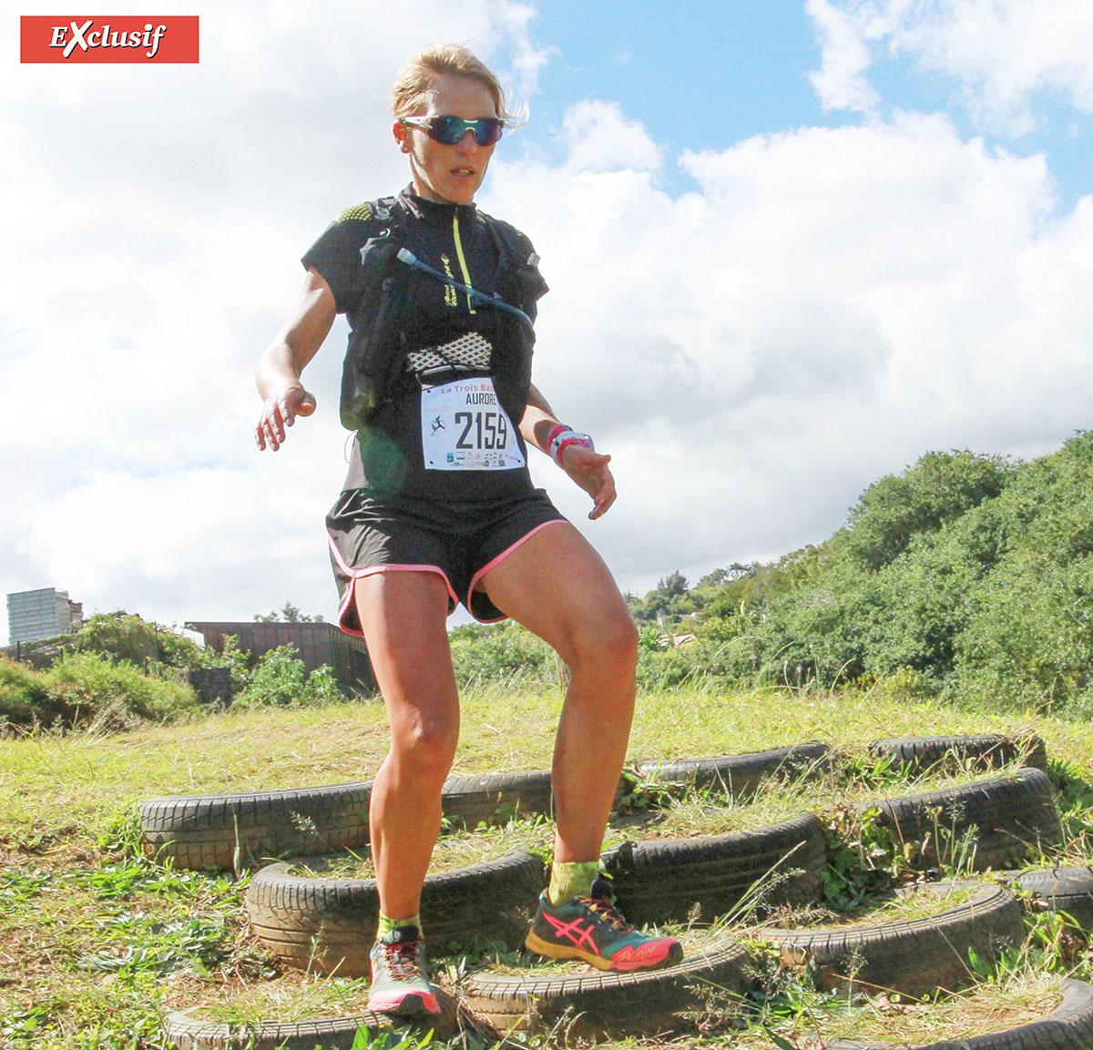 Aurore Canino 2ème des 43 km: de la Normandie à La Réunion, pour un futur Grand Raid qu'elle attend depuis si longtemps...