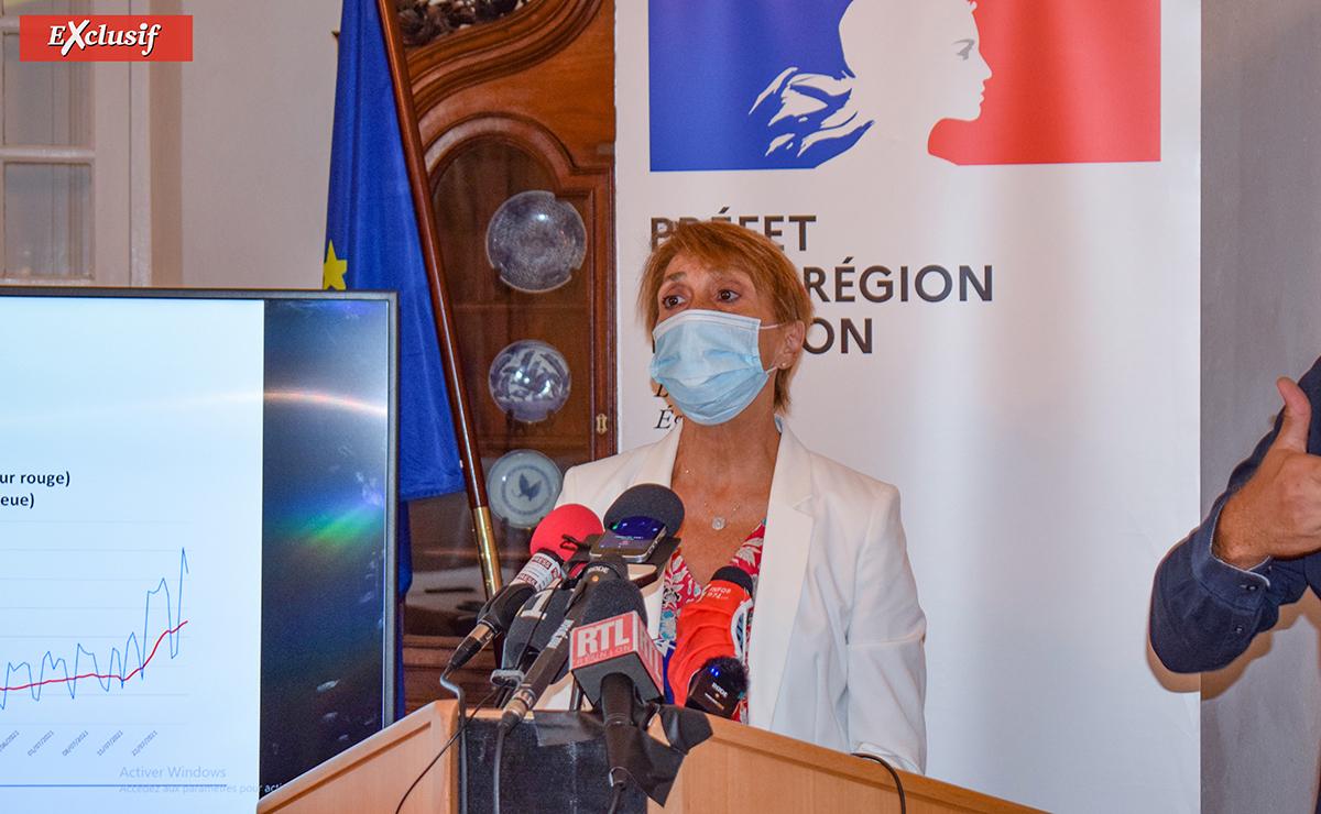 Martine Ladoucette espère atteindre l'immunité collective avec 80% des Réunionnais vaccinés mi-novembre