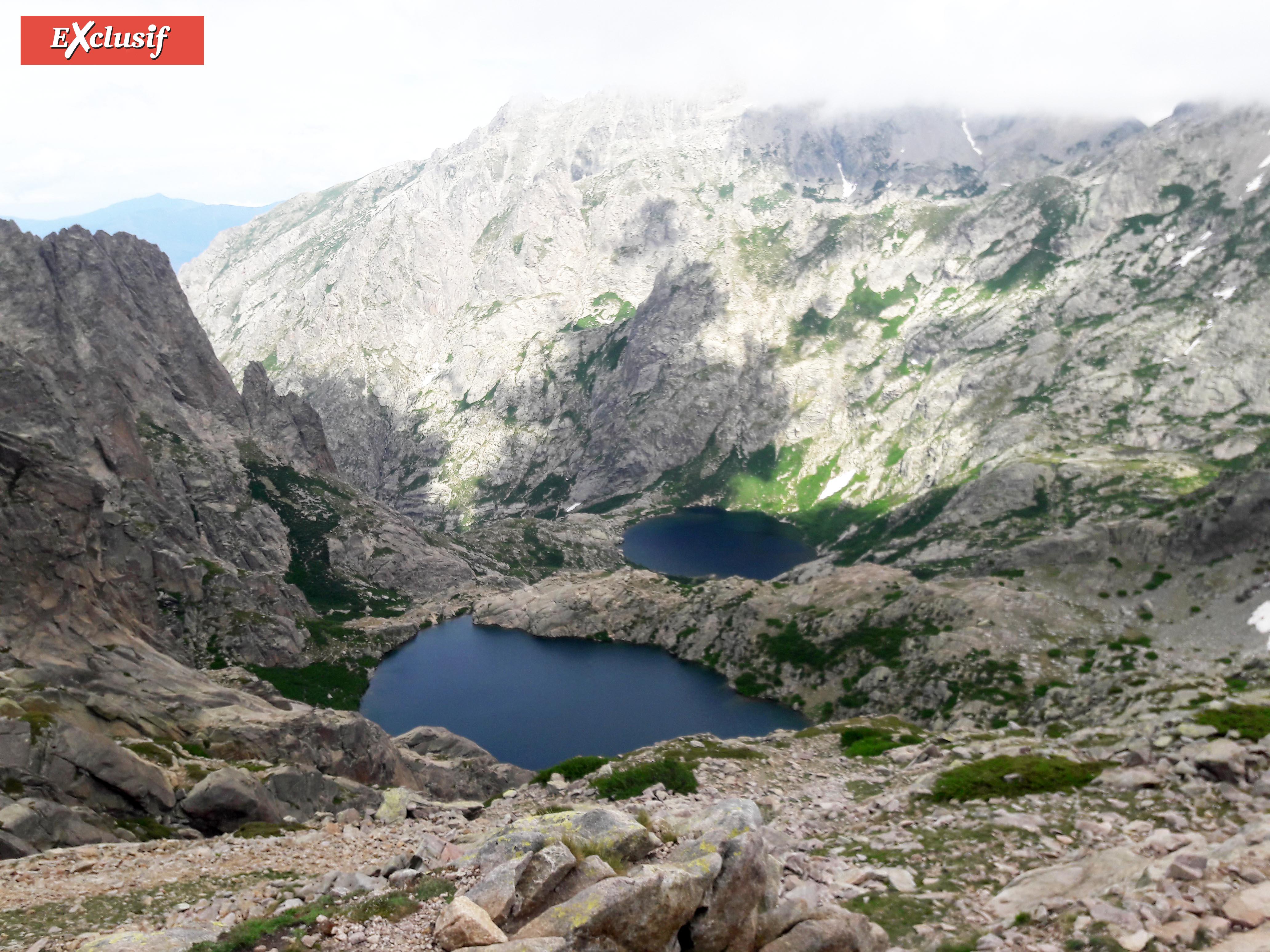 Les lacs Melu et Capitellu: une caractéristique de la beauté de ce GR20