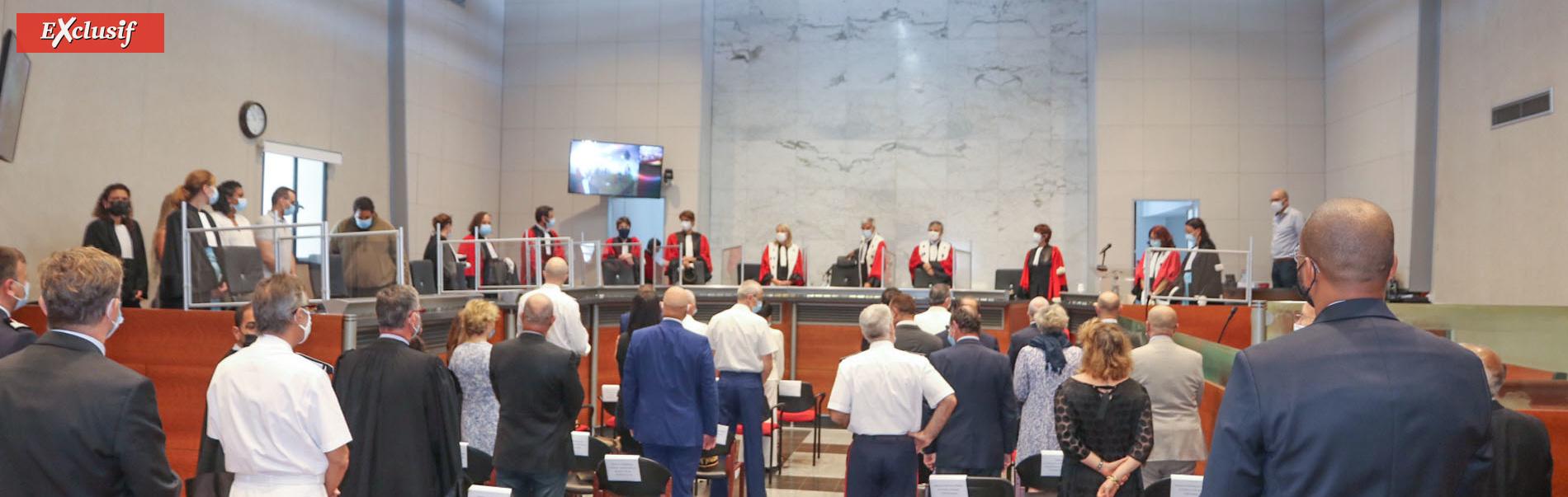 Audience solennelle d'installation de la cour d'Appel