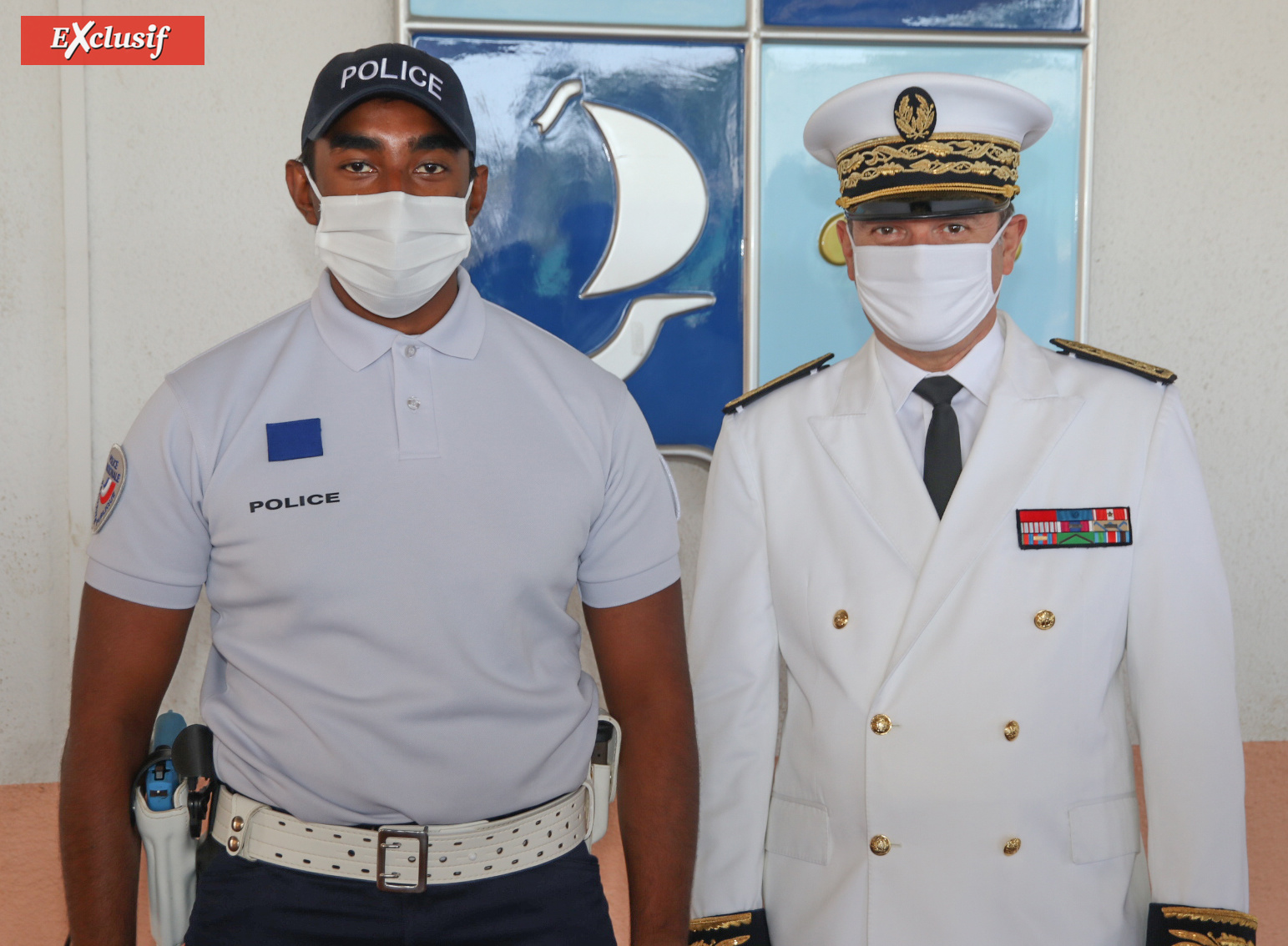 Police Nationale: cérémonie de sortie des cadets de la République