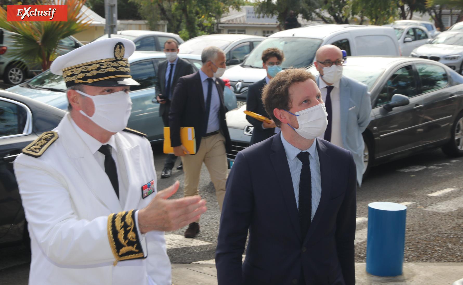 Rentrée des étudiant.e.s étranger.e.s avec le Secrétaire d'Etat Clément Beaune