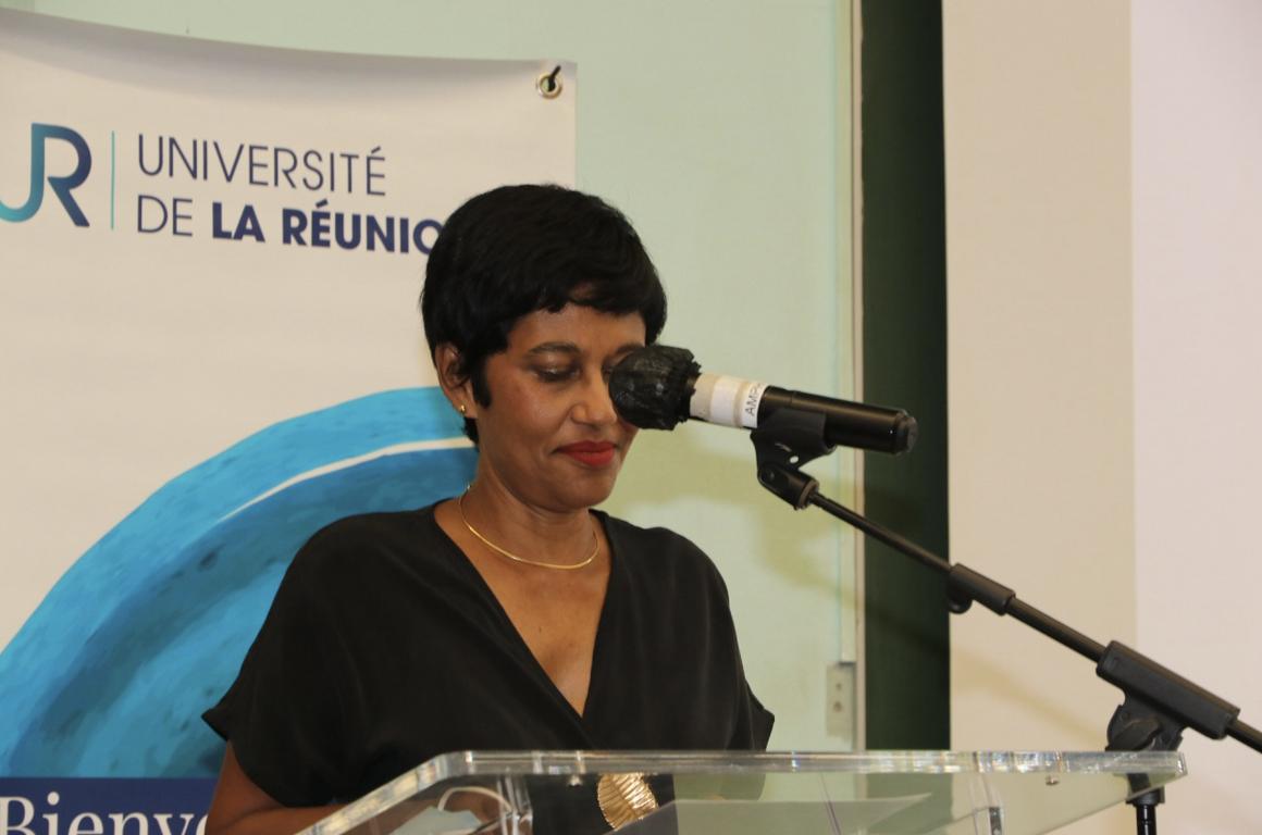 Ericka Bareigts, maire de Saint-Denis
