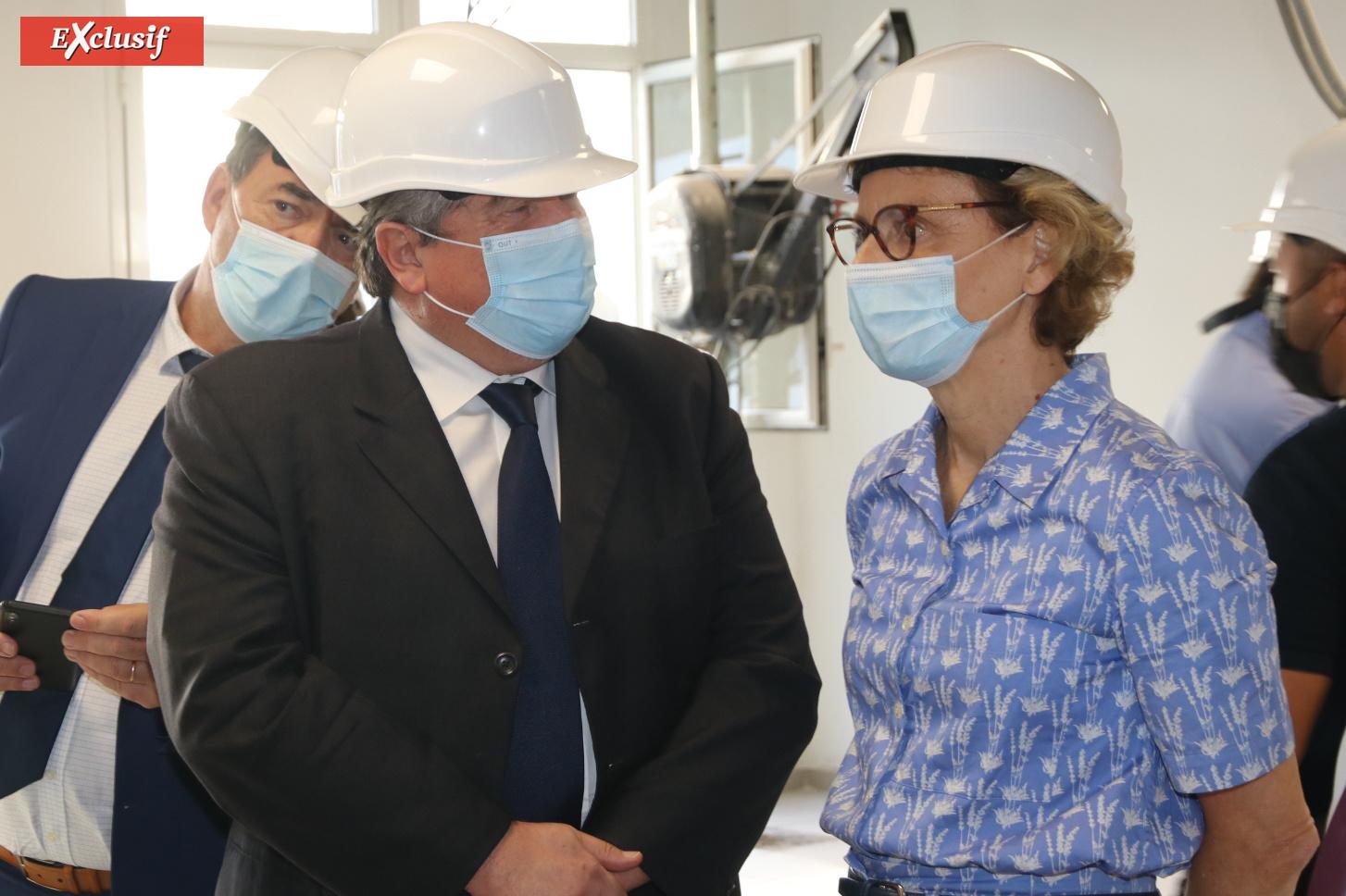 Philippe Marcigniak et Chantal Manès-Bonnisseau