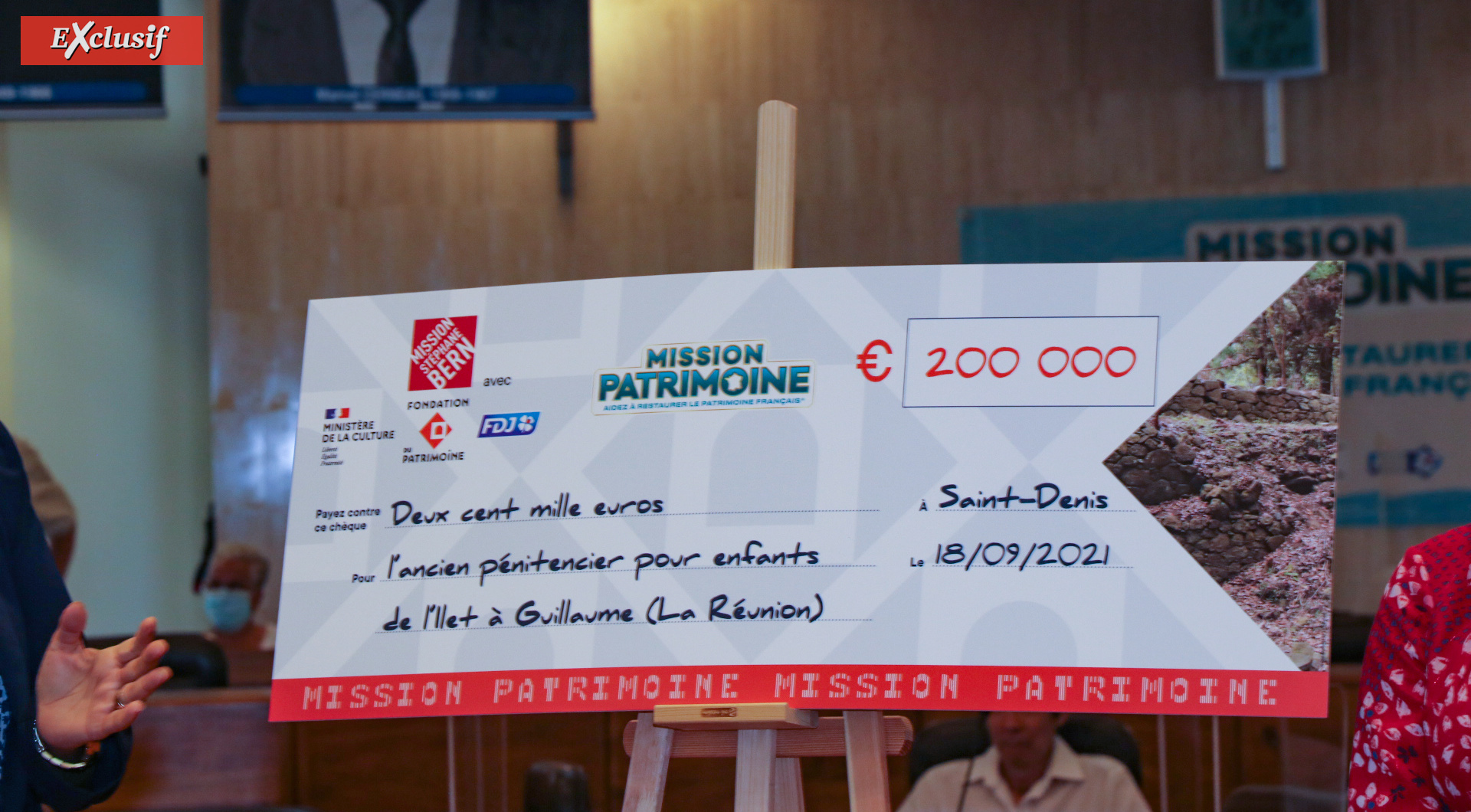 Loto du Patrimoine: 200 000€ pour le pénitencier pour enfants de l'Ilet à Guillaume
