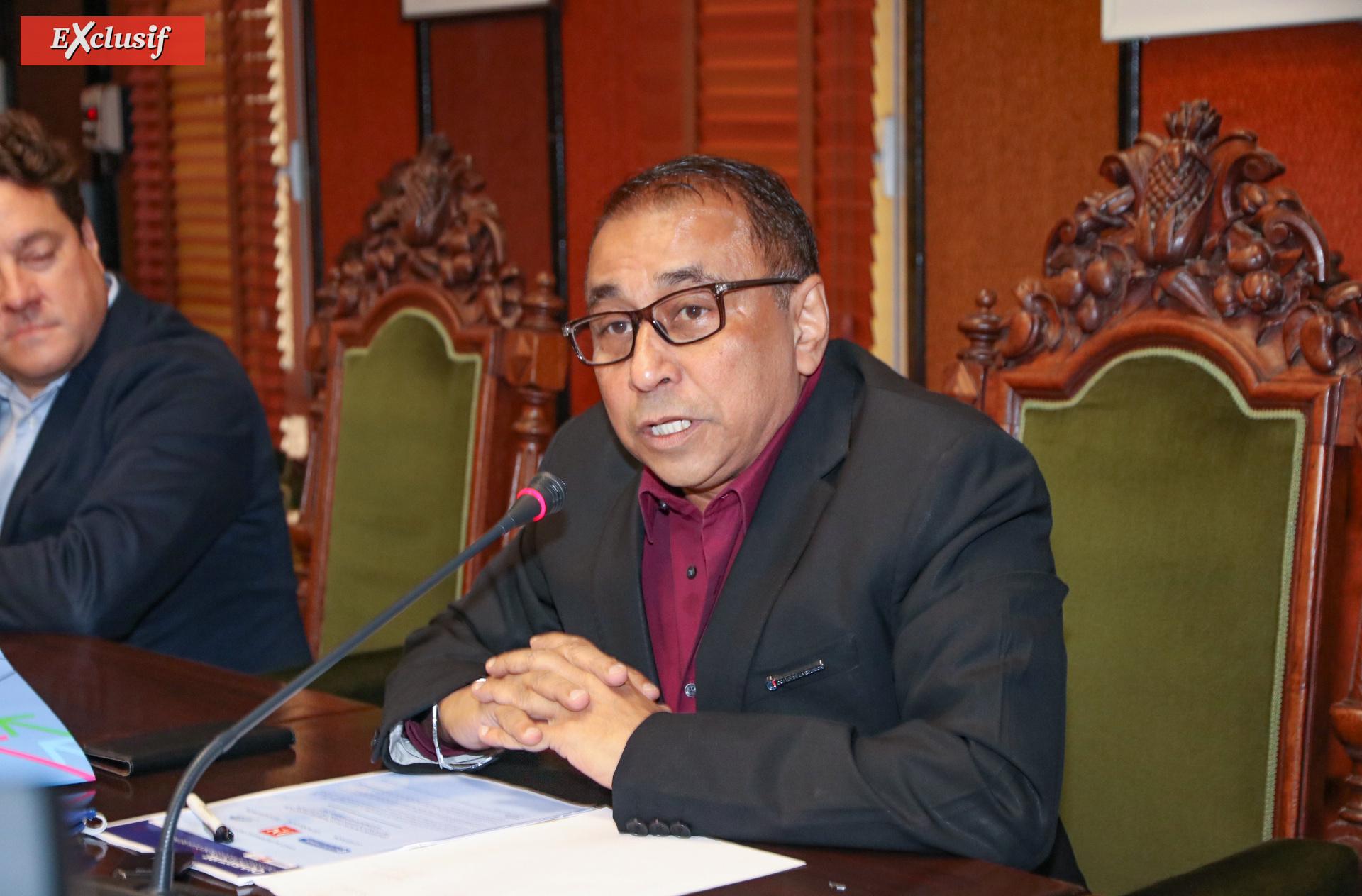 Ibrahim Patel, président de la Chambre de Commerce et d'Industrie de La Réunion