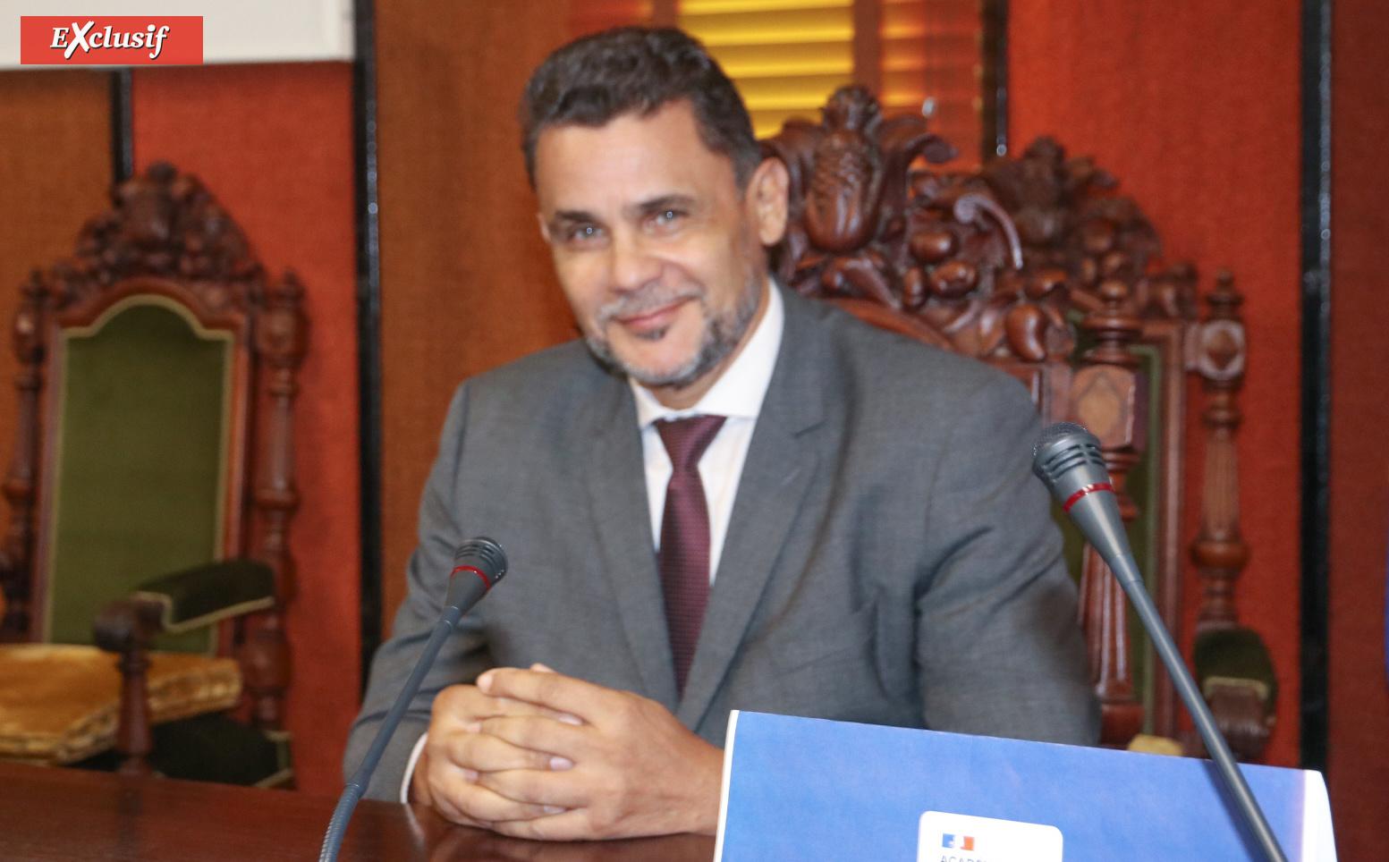 Mr Legros, représentant du Rectorat de La Réunion