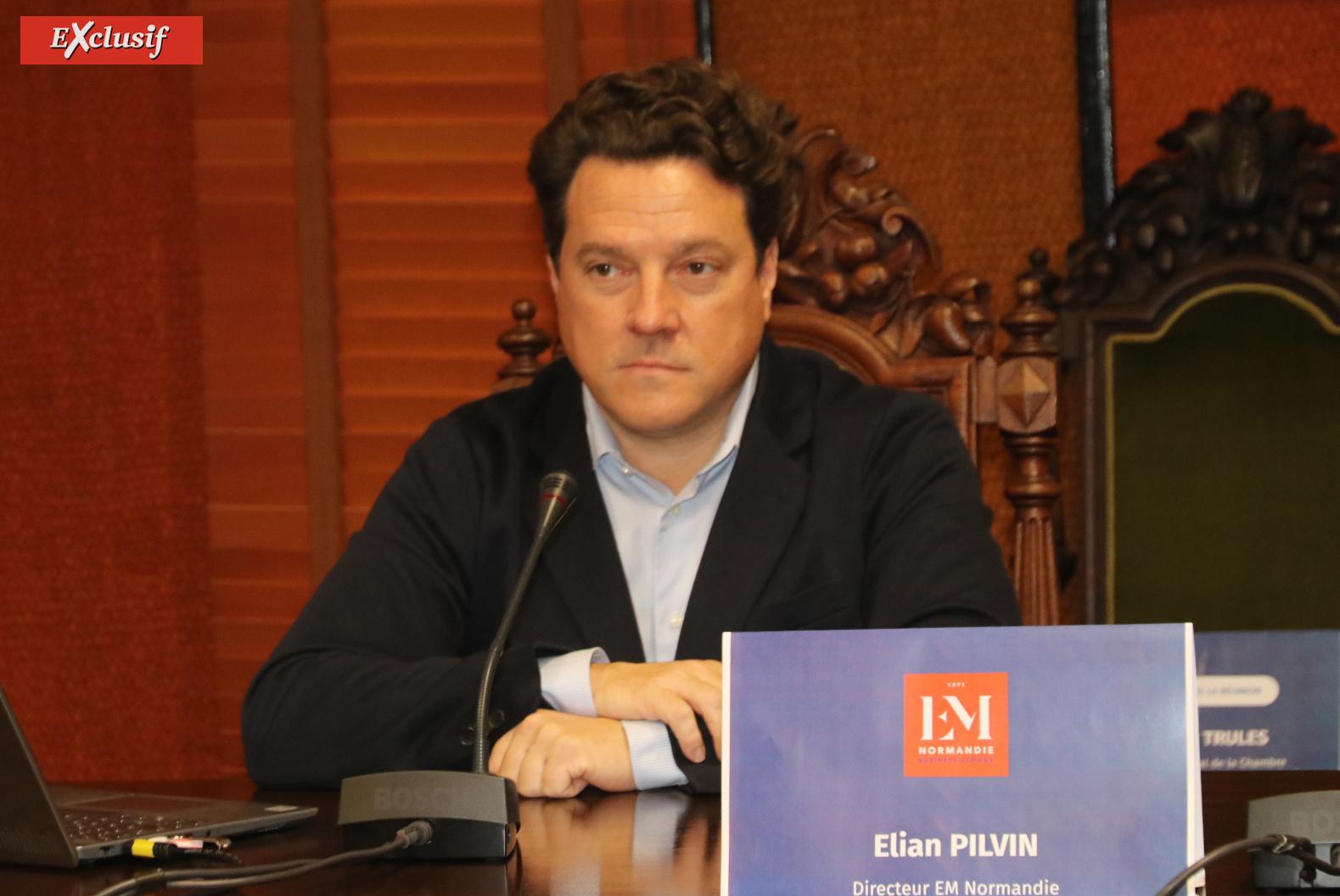 Elian Pilvin, directeur de l'EM Normandie Business School