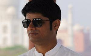 Sandeep Vinodkumar Singh, producteur de Bollywood (photo L'express Maurice)