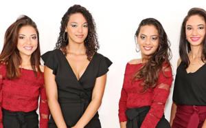 Les 7 candidates Miss Salazie 2018