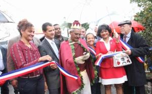 Inauguration par le maire Marco Boyer et ses invités