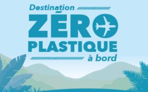 Zéro plastique à bord des avions Air Austral