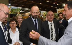 Edouard Philippe visite La Réunion au Salon de l'Agriculture