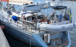 """Le """"Dawnbreaker"""", un voilier de 19,5m battant pavillon suédois"""