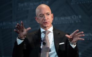 Jeff Bezos, patron d'Amazon, est l'homme le plus riche du monde, sa fortune personnelle est estimée à plus de 130 milliards d'euros!