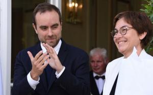 Outre-mer: passation de pouvoir entre Annick Girardin et Sébastien Lecornu