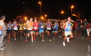 10 km de Saint-Paul 2020… Thomas Ethève, le futur vainqueur, est déjà devant