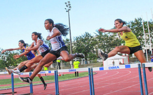 Athlétisme championnat régional été austral: record pour Emma Métro
