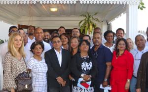 Ibrahim Patel a lancé sa campagne à la salle Candin