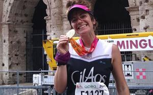 Louise Classeau: l'ex-membre de la Team Cilaos sur le marathon de Rome