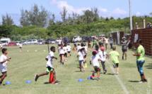 Le Kid's Athlé sur le site de Langevin à Saint-Joseph, sous un chaud soleil