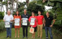 Les organisateurs présentent l'affiche du premier Salaozy Festival Nature
