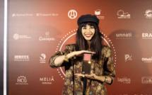 Aurélia Mengin vit un rêve éveillé, son film est sélectionné dans plusieurs grands festivals (ici photo prise au Festival International de Cinéma de Girona l'année dernière)