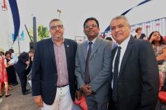 Défilé du 14 juillet 2019 sur la Barachois